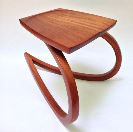 The Perch in Honduran Mahogany